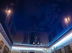 Натяжные потолки фото
