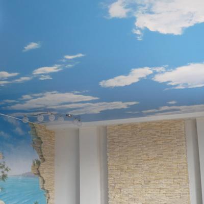 Натяжные потолки небо цены