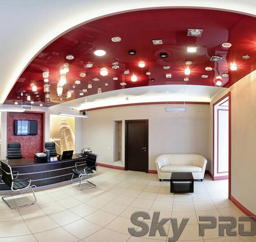 светильники в офисе SkyPRO в Печорах